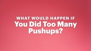 What Would Happen If You Tried To Do Infinite Pushups?