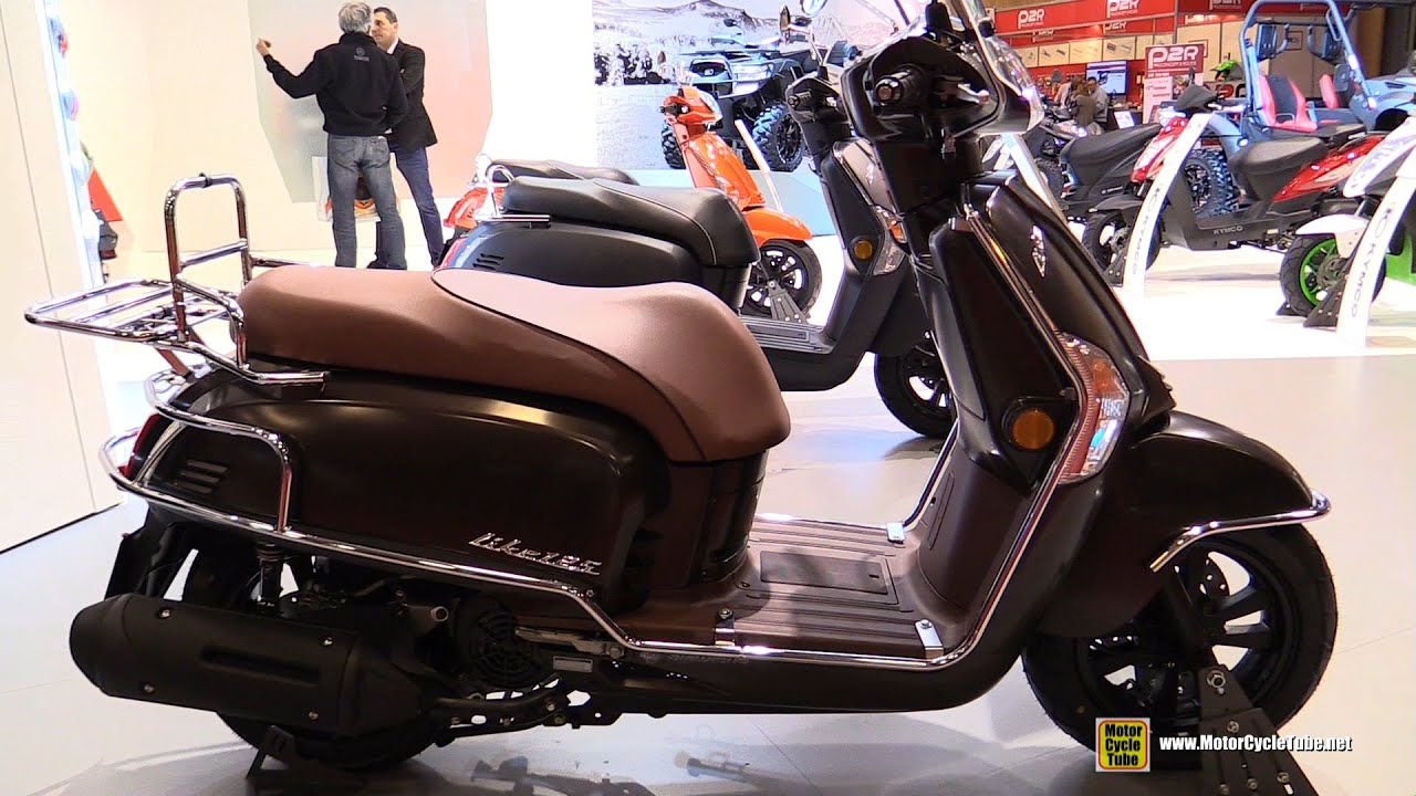 2016 kymco like 125 walkaround 2015 salon de la moto. Black Bedroom Furniture Sets. Home Design Ideas