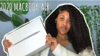 "2020 13"" SPACE GREY MACBOOK AIR UNBOXING!"