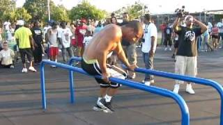 Barstarzz Member Dip Bar Freestyle at Competition