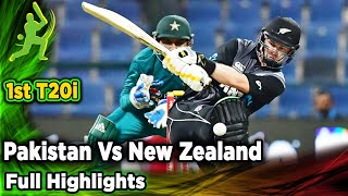 Pakistan Vs New Zealand | 1st T20I | Full Highlights | PCB