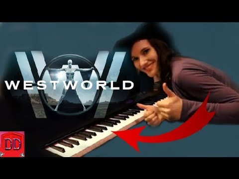 WESTWORLD - Main Title Theme - Piano/strings cover + free sheets