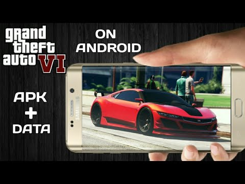 Download Gta 6 Apk Data Highly Compressed On Android Youtube