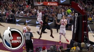 LeBron James mic'd up during big performance against Bulls | ESPN
