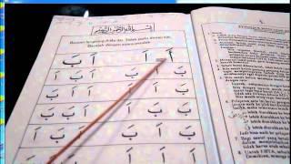 cara cepat belajar membaca al quran iqra 1 mukasurat 1 3 4