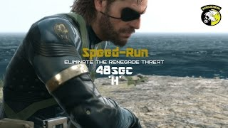 [MGS5: GZ] Ver.2 Speed-Run 48sec - [H] Eliminate The Renegade Threat ' S Rank / No Combat Alert