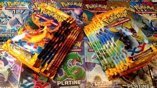 "Ouverture de 18 Boosters Pokémon XY 2 Étincelles -"" RECORD battu en couple !? Ft MissJirachi """