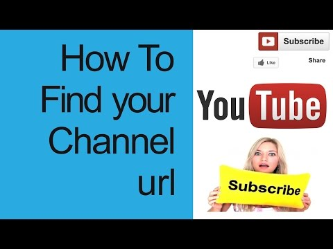 How to get your YouTube channel URL