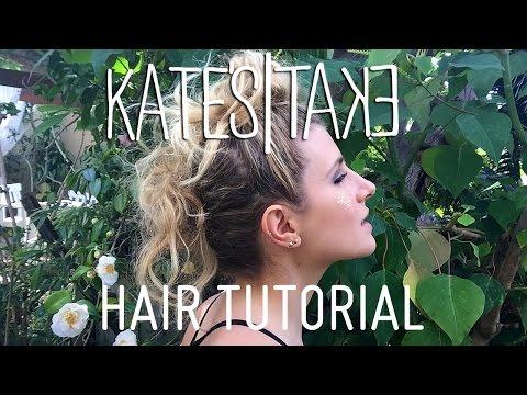 Three Top Buns Like Rey From Star Wars | Hair Tutorial | Kate's Take | Mr Kate