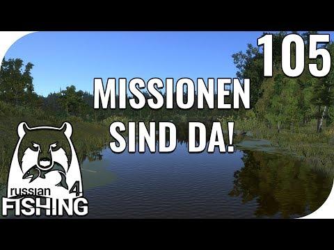 RUSSIAN FISHING 4 #105 - MISSIONEN SIND DA! 🎣 || PantoffelPlays