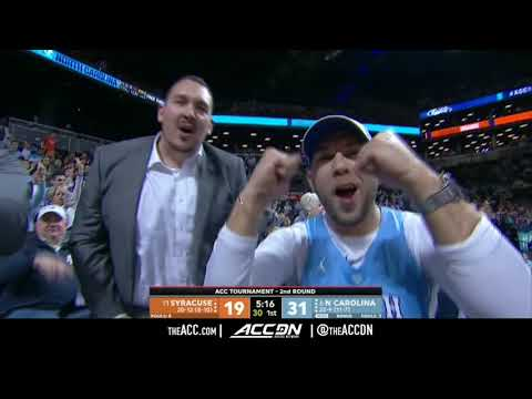 ACC MBB Tournament: Syracuse vs North Carolina Condensed Game 2018