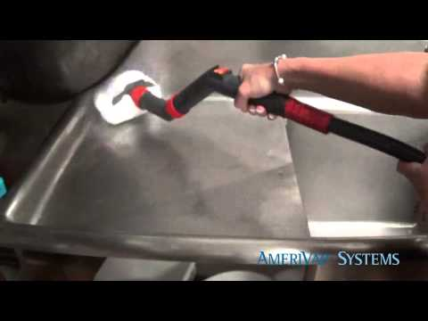 Cleaning Restaurants With A Commercial Steam Cleaner