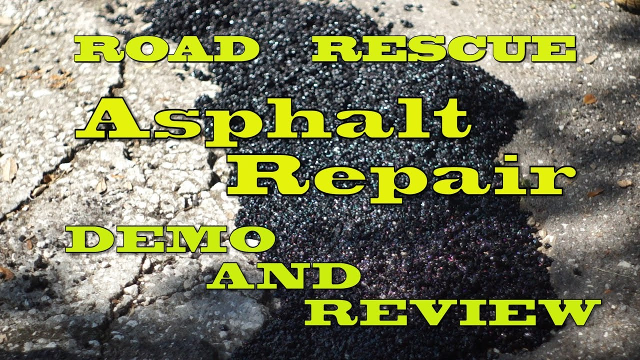 Road Rescue Asphalt Patch Demo And Review