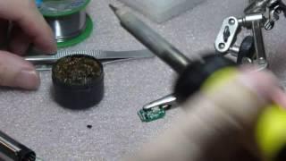 Ремонт контроллера батареи электронной сигареты