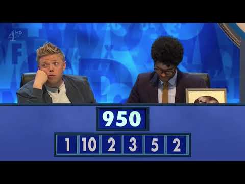 """""""That's called a Bic drop, y'all""""  Richard Ayoade's real life tnetennba moment in the numbers round"""