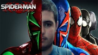 Spiderman Shattered Dimensions- Pelicula completa en ESPAÑOL