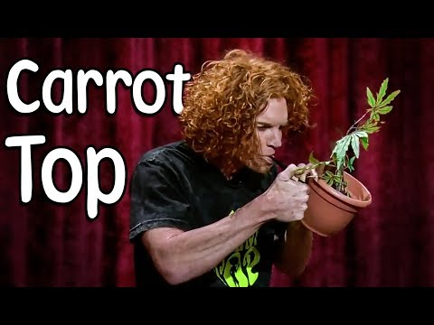 Carrot Top doing Hilarious Prop Comedy on The Late Late !