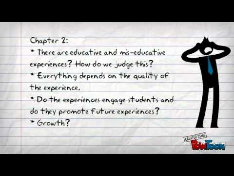 Criteria of Experience