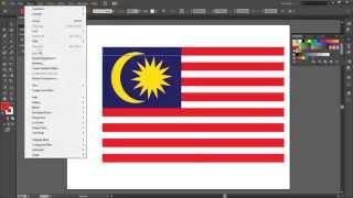 Illustrator Tutorial Mencipta Bendera Malaysia