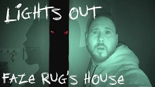 Faze Rug's Haunted House In The Dark (Scary!!!!!) | OmarGoshTV