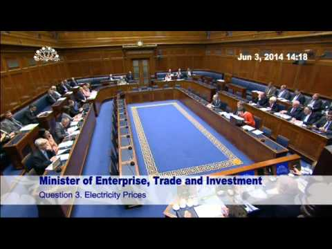 Question Time: Enterprise, Trade and Investment Tuesday 03 June 2014