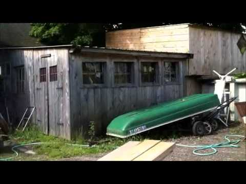 Starting to build a lean to lawn mower shed with rpeek