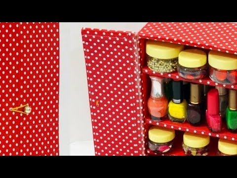 DIY crafts:Best out of waste crafts :How to Use waste shoe Box .DIY carboard from old shoe Box