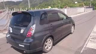Видео-тест автомобиля Suzuki Aerio (Rd51s-201154, M18A, 2005г)