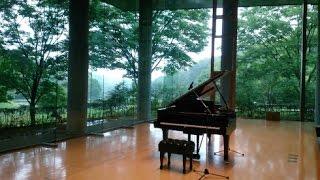 【高音質ジブリ】アシタカせっ記 久石 譲 ピアノ ジブリ もののけ姫より 書道 Ashitaka Sekki