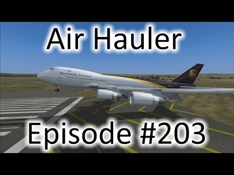 FSX | Air Hauler Ep. #203 - Last 747 Flight | 747-400