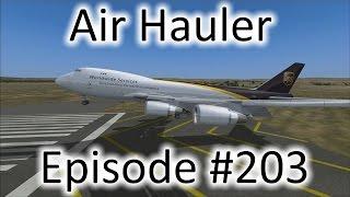 FSX | Air Hauler Ep. #203 - Last 747 Flight | 747-400