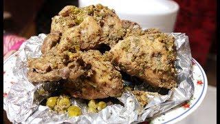 Chicken Roast | 2 Ways - Oven & Steamer | Foiled Chicken Roasted
