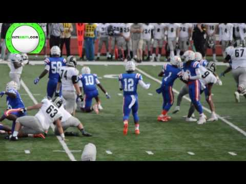 East St. Louis vs. Glenbard North (Illinois High School Playoff Game)