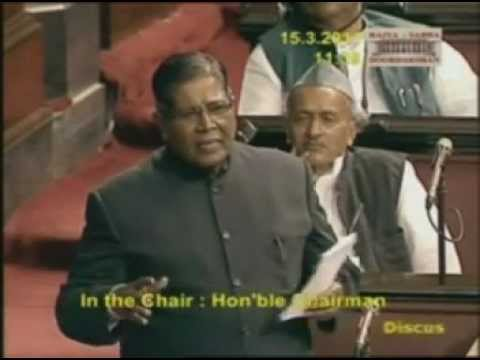 K. Rahman Khan speaking in Rajya Sabha on Minorities issues