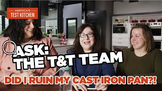 Ask the Test Kitchen with Lauren, Lisa, and Kate from the Tasting and Testing Team