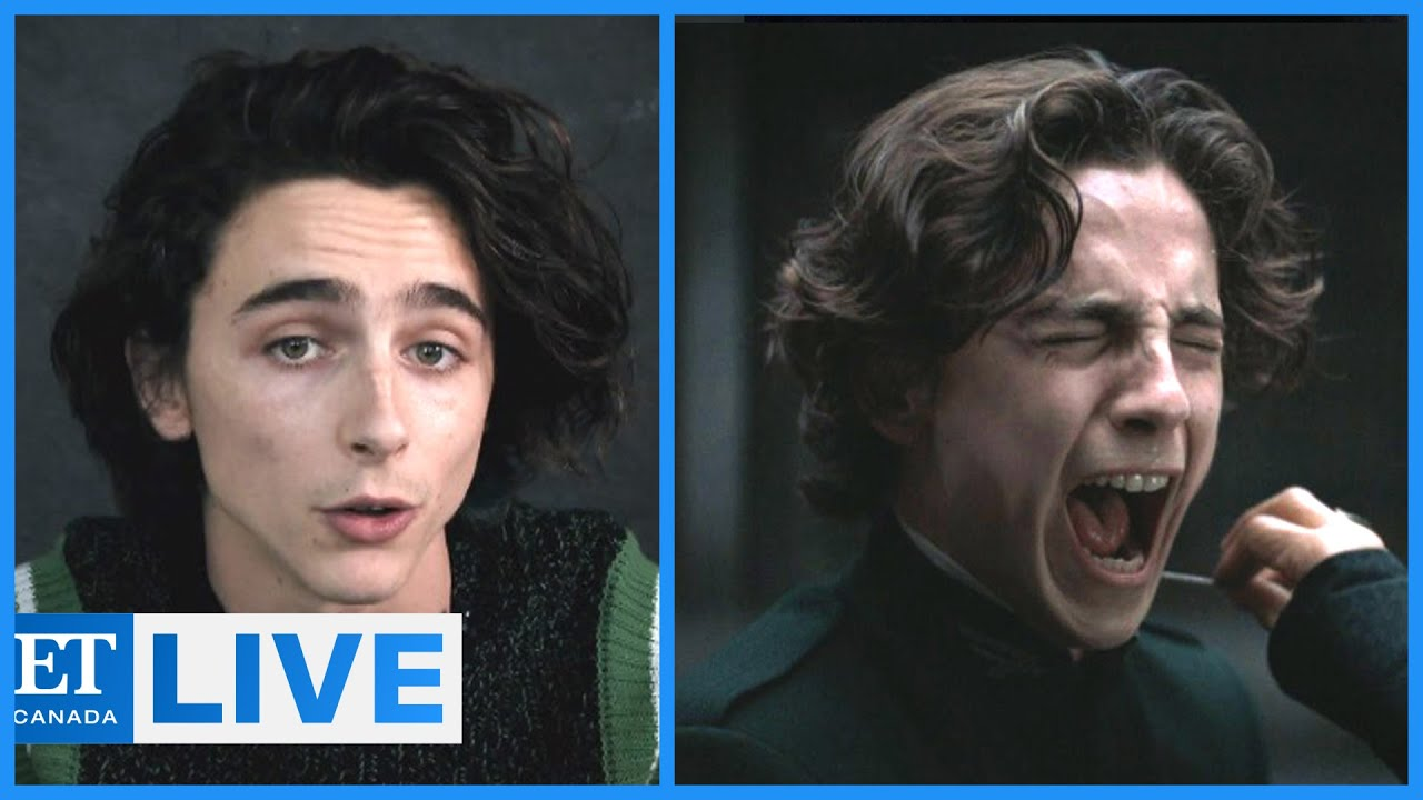 Timothee Chalamet Talks 'Dune'