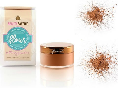 Beauty Bakerie Flour Setting Powder Brown review |make up voor donkere huid