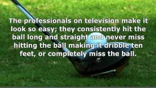 Golf Lessons For Beginners - 3. The long game