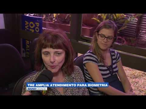 """Band Cidade - """"TRE amplia atendimento para biometria"""""""