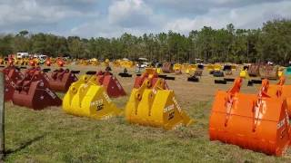 Video still for Yoder & Frey Kissimmee Auction- Buckets and Attachments