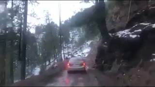 Car Accident Route of Kashmir Toli Peer    5 Persons in Vehicle All are Died