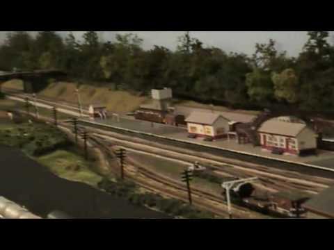 N Gauge Model Railway –  Dantown 1