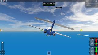 SFS Flight Simulator | ROBLOX | Allegiant Airlines | MD-80
