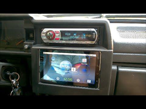 Как подключить планшет к машине
