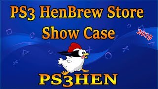 PS3 HenBrew Store Install And Show Case Features 2019