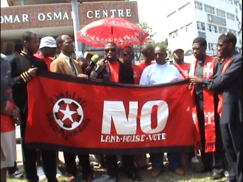 S'bu Zikode Speaks at the March on Mlaba (part 1)