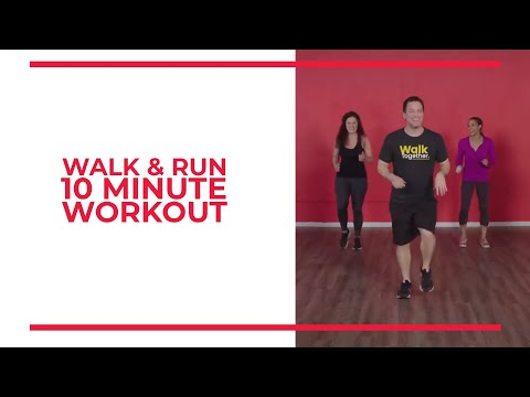 Walk And Run: 10 Minute Walk Blasting Workout