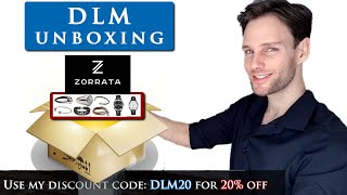 STYLISH MEN'S JEWELRY Collection From  Zorrata | DLM UNBOXING #2