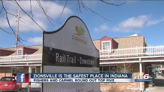 Zionsville Ranked Safest City In Indiana