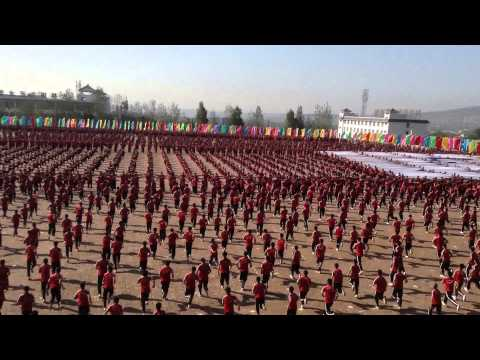 Kunfu Academy, China, near the Shaolin Temple, (Tagou Martial Arts School)